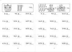 contas de divisão Teaching Materials, Teaching Resources, Homeschool, Math Equations, Education, Gabriel, Maths, Peru, David