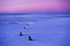 Northern Lights adventure in the Lapp of luxury