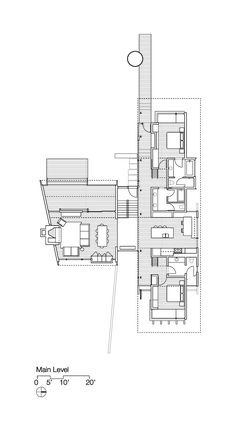 Kicking Horse Residence,Floor Plan