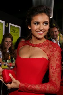 Nina Dobrev in Reem Acra, steal her style now