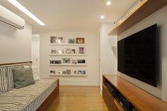 Modelo de sala-quarto