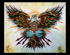 This is the finished version of my original eagle/phoenix tattoo design for my friend's chest piece. Eagle Chest Tattoo, Eagle Tattoos, True Love Tattoo, Half Sleeve Tattoos For Guys, Chest Piece Tattoos, Phoenix Tattoo Design, Seize The Days, American Traditional, Tattoo Ideas
