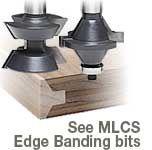 Katana® Edge Banding, Bull Nose and Edge Beading Router Bits