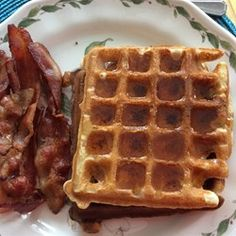 Whole Wheat Coconut Oil Waffles - Allrecipes.com