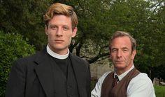 Robson Green, ITV, crime drama, Grantchester, James Norton, interview, Olly Grant