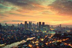 Makati City Skyline
