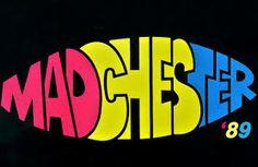 The Hacienda, Manchester Word Web, Black Grapes, Stone Roses, Acid House, Soul Funk, Retro Font, Music Promotion, Joy Division, My Generation