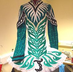 Irish Dance Solo Dress Costume by Celtic Star