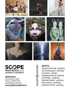Soon🙌 @scopeartshow #galleriramfjord #scopemiamibeach #artbaselmiami2018 #artfairsmiami Art Basel Miami, Art Fair, Miami Beach, Movie Posters, Movies, Fictional Characters, 2016 Movies, Film Poster, Films