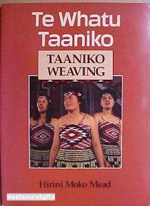 A book on Taniko Weaving