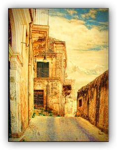 Oldrobel's Fotoreise: Small street (Modica, Sicily)