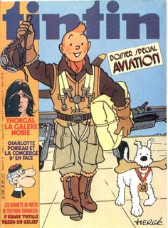 Journal de TINTIN édition Française N° 291 du 3 Avril 1981 Album Tintin, Ub Iwerks, Jc Leyendecker, Herge Tintin, Tom Of Finland, Ligne Claire, Aviation Art, My Childhood Memories, Easy Drawings