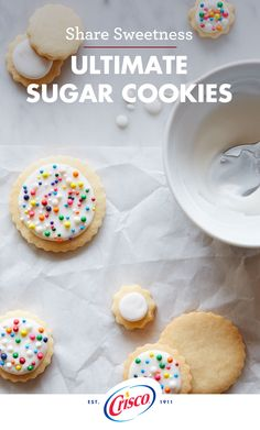 Our Ultimate Sugar Cookie recipe adds a colorful splash and sweet vanilla flavor to any holiday celebration. The oven countdown starts at nine minutes and ends with a light and fluffy final product. Ask your kids for help decorating with icing and rainbow sprinkles to add the finishing touch.