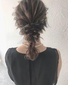ナチュラル ヘアアレンジ 大人かわいい ゆるふわ|LIICHI (リイチ) YUJI / LIICHI 401321【HAIR】 Hair Arrange, Hair Setting, Japanese Hairstyle, About Hair, Hair Looks, New Hair, Wedding Hairstyles, Curly Hair Styles, Hair Cuts