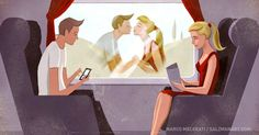 15illustrations about how absurd the modern world is