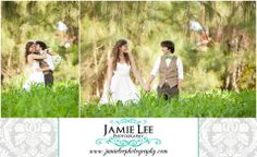 Cape Coral Yacht Club Ballroom   Cape Coral Wedding Photographer   Jamie Lee Photography   Romantic Bride and Groom Portrait in Tall Grass