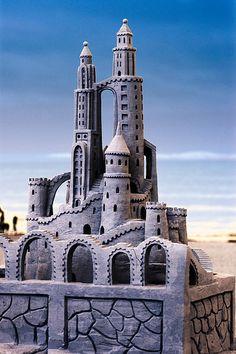 Sand sculpture | Sand Castle Blues