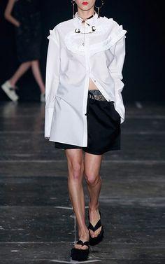 Demetria Flounce Shirt by Apartamento 03 | Moda Operandi