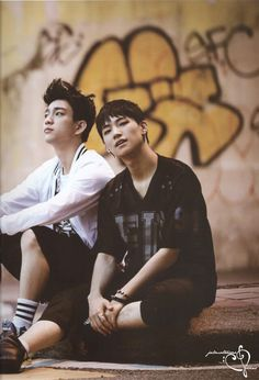 GOT7 JR and JB