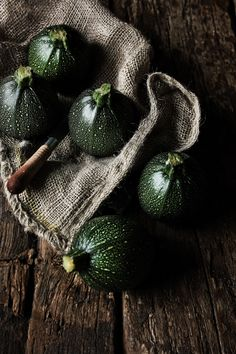 https://flic.kr/p/e4uGMC | Round courgettes | Recipe and story: pratos-e-travessas.blogspot.com