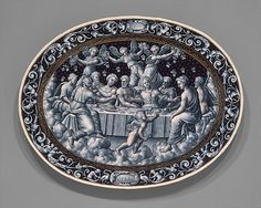 Pierre Reymond | The Wedding Feast of Cupid and Psyche | French, Limoges | The Met