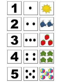 Preschool Learning Activities, Toddler Learning, Kindergarten Math, Preschool Activities, Teaching Kids, Printable Preschool Worksheets, Teaching Numbers, Numbers Preschool, Math Numbers