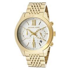 Michael Kors Men's Chronograph Black Dial Black IP Stainless Steel Watch for sale online Men's Watches, Watches For Men, Mens Designer Watches, Metal Stamping, Stainless Steel Case, Quartz Watch, Michael Kors Watch, Gold Watch, Chronograph