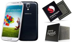 Samsung Galaxy S4 CPU Breakdown by Country