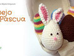 Conejo de Pascua Amigurumi - Patrón Gratis en Español