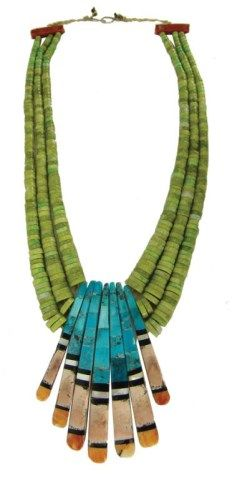 Lot # : 396 - Santo Domingo Necklace - Donald Crespin