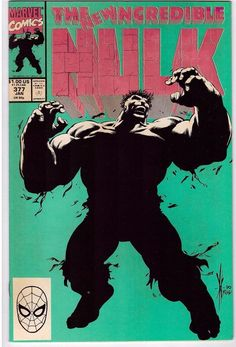 The Incredible Hulk #377 Jan 1991 Marvel Comic Book Savage Survivor's Guilt