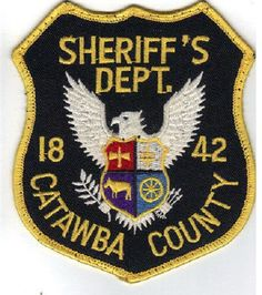 Catawba county Sheriff NC