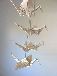 La tradición japonesa de las 1000 grullas de papel: CÓMO HACER UNA GRULLA DE PAPEL FÁCIL