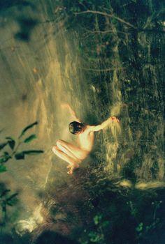 Ryan McGinley: Jonas (Waterfall), 2008