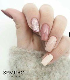 Semilac on instagram #nude