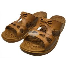 ae8fa1f26ee2 Cutie Bow Brown Pali Hawaii Sandals