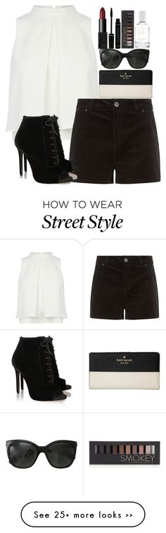 """Simple Street Style"" by ecomedygirl16 on Polyvore featuring Tabitha Simmons, NARS Cosmetics, Forever 21, Splendid, Chanel and Kate Spade"