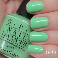 New OPI Neon, You're So Outta Lime