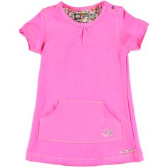 Jurk Diva Pink | Tumble n Dry | Daan en Lotje https://daanenlotje.com/baby/meisjes/tumble-and-dry-jurk-diva-pink-001151