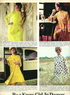 Dreaming in Dacron: Seventeen Magazine 1968 Colleen Corby Cay Sanderson