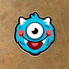 Image of Wolfie Monster Sticker