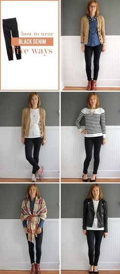 five things Friday: black jeans for every girl edition | in residence | Bloglovin