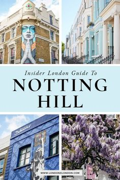 Notting Hill is one of London's liveliest areas. Planning to visit? These are the things to do in Notting Hill you shouldn't miss. European Destination, European Travel, Travel Europe, England Countryside, Travel Guides, Travel Tips, Budget Travel, London Guide, Things To Do In London