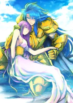 Athena and Kanon ? Or Saga ?
