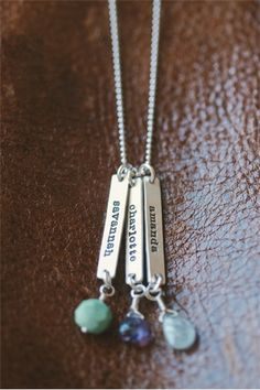 sterling fresh cut birthstone necklace | Lisa Leonard Designs