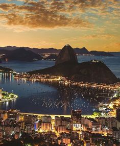 The most magical city 😍 Places Around The World, Around The Worlds, Beautiful World, Beautiful Places, Brazil Beaches, Places To Travel, Places To Visit, Rio Brazil, Copacabana Beach