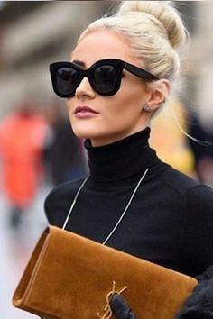 Óculos gatinho é um dos modelos apostas para o verão 2017