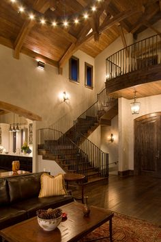 Staircase Photos Rustic Design, Pictures, Remodel, Decor and Ideas - page 17