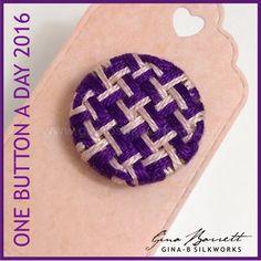 Day 3: Pinwheel #onebuttonaday by Gina Barrett