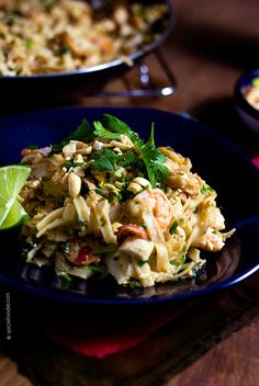 Easy Shrimp Pad Thai Recipe | A classic of Thai cuisine this recipe is ...